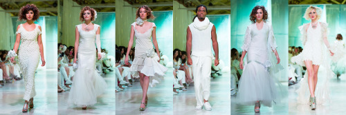 SNOW 2013 A White Fashion Event Designer: Cari Borja