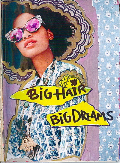 farankrentcil:  Big Hair. Big Dreams.I Heart Kilo Kish! (Pictured in Vogue Magazine wearing Tory Burch)