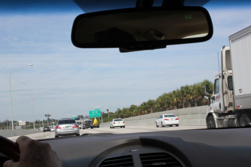 boredology:  jeffrubinjeffrubin:  When I was in Florida last week I saw a car shaped like a banana. This is every picture I could get of it.   is that Florida Man  He would.