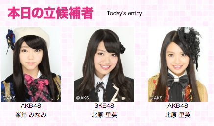 -akb48:  Minegishi Minami and Kitahara Rie are ready for this!