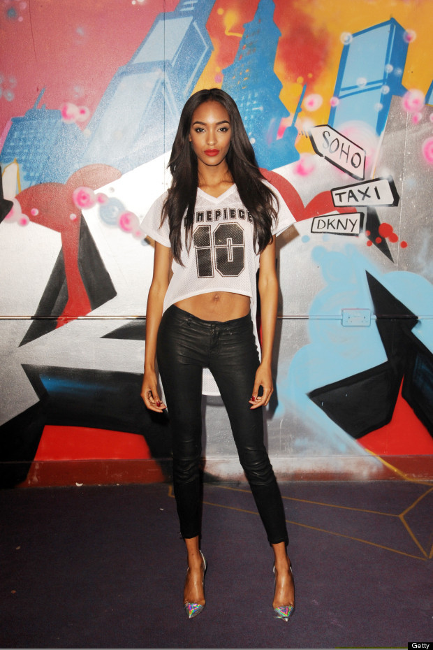 commandotwocrooked:Jourdan Dunn looking smoking as per usual at last nights DKNY Artworks party in London, joined by the likes of fellow 10/10's Cara Delevingne and Iggy Azalea. Swoon. That is how you do the sports luxe baseball shirt trend perfectly!@missjourdandunn @dkny @TwoCrooked