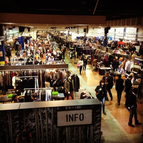 The saga continues… Live from @ProjectShow #mensmarket