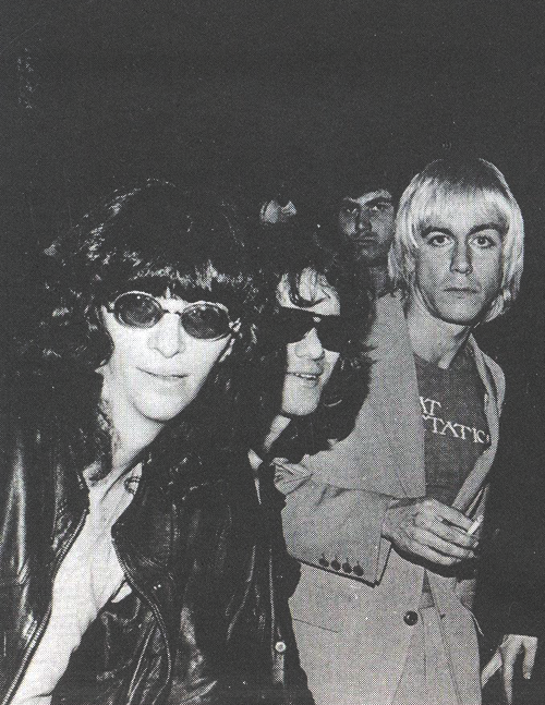cretin-family:  Joey Ramone, Tommy Ramone, and Iggy Pop