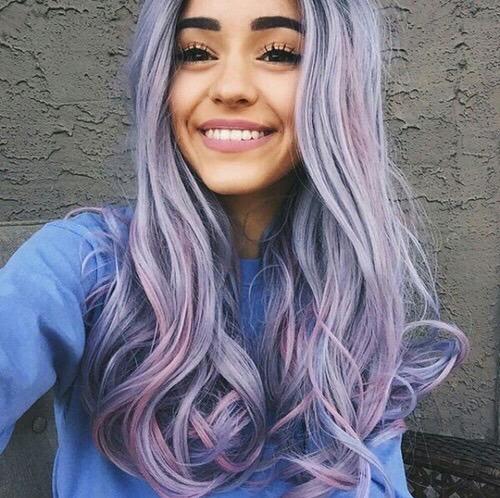 hair hairstyle long hair hair color hair inspiration trends hairstyles hair goals pastel grunge pink hair purple hair pink purple hipster hippie boho hair ideas pale girl gorgeous girly blog eyebrows brows eyebrows goals lipstick