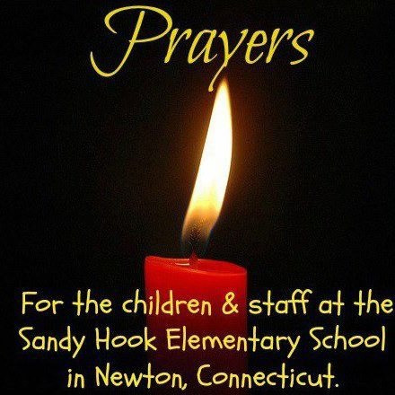 Thinking about and praying for the families of Newton, Connecticut. Let us all send loving , healing energy to that community and to the world at large. We need more love, tolerance, compassion, healing , forgiveness, hope  in the world.