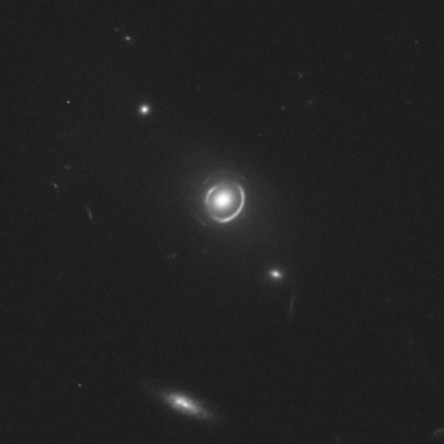 Rare double Einstein ring found by Hubble