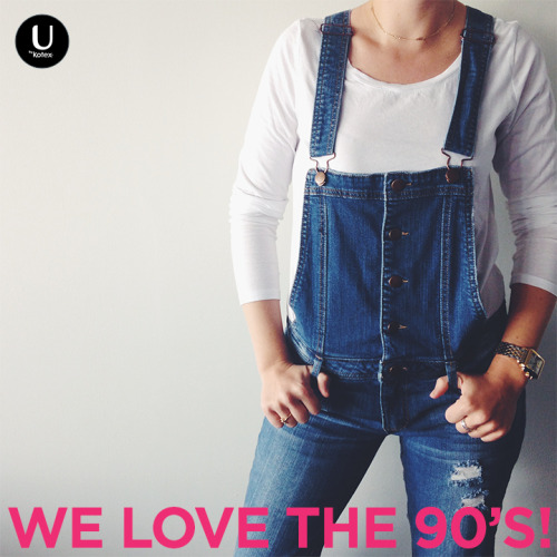 We don't know about you, but we're really glad overalls are back. #TBT