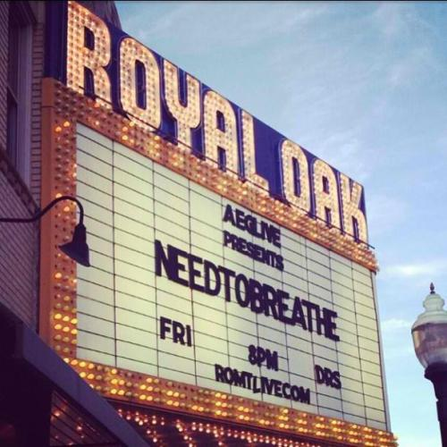 Royal Oak Music Theater, Detroit, MIMay 3, 2013