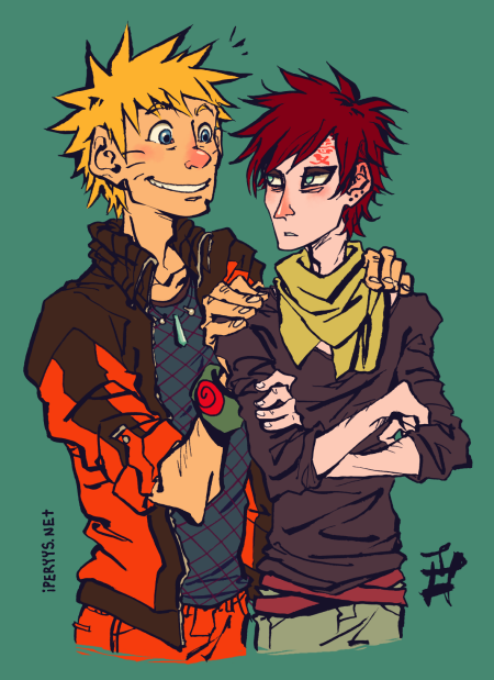 "Naruto: Sandypants! ♥ Gaara: No. N: Aw. Gaara~ G: I don't. I just call you by name. N: You did call me ""light itself"" once. G: …You weren't supposed to find out about that one."