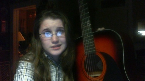 So I've got this beautiful guitar..  and I don't know how to play it. It makes my little heart sad so I was wondering if anyone knows where I could start? Like learning and what not. It's so pretty and I bet it would sound amazing in capable hands but it's been sitting in the hallway gathering dust for like 2 months. Would anyone like to help me?