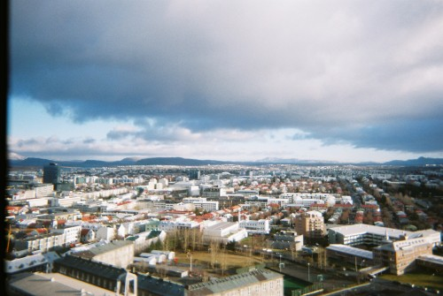 Looking over Reykjavik from the top of Hallgrimskirkja when me and Sophie nipped over to Iceland back in November last year to see some friends and take in the Airwaves festival.