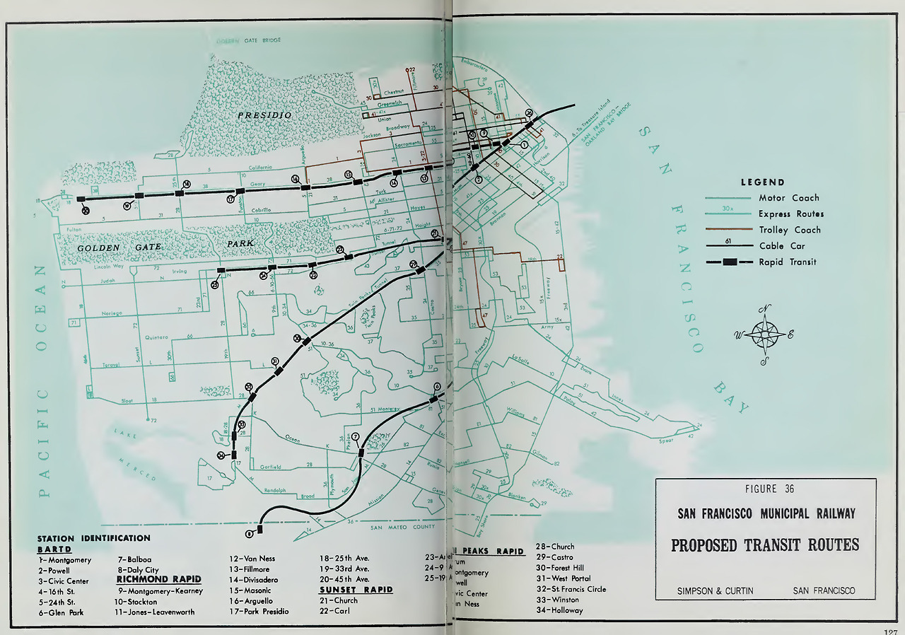 Historical map 1967 san francisco muni rapid transit maps historical map 1967 san francisco muni rapid transit plan im ever so slightly sciox Choice Image