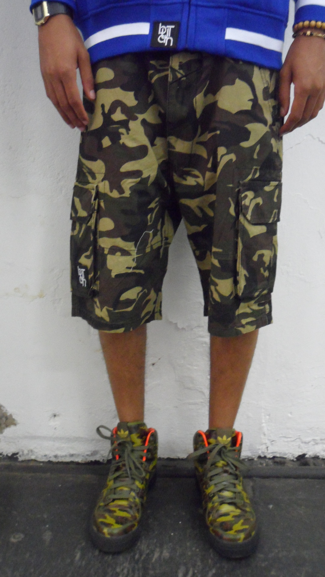 BUTAN CAMO SHORTS ADIDAS x JS WINGS