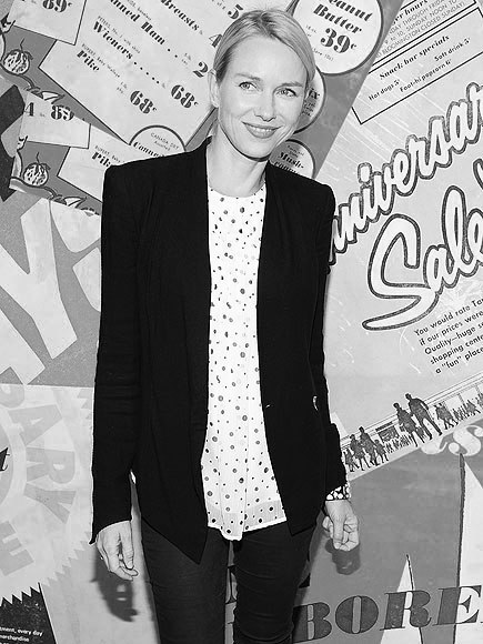 SPOTLIGHT Naomi Watts in NYC wearing our AW12 Prism Blazer.
