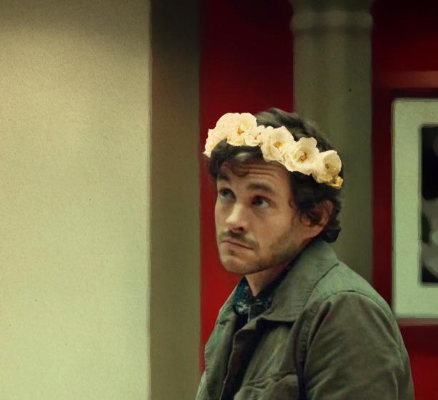 freezeveganpolice:  #CAN WE EDIT ROSE CROWNS ONTO EVERY SCREEN CAP OF WILL EVER PLS