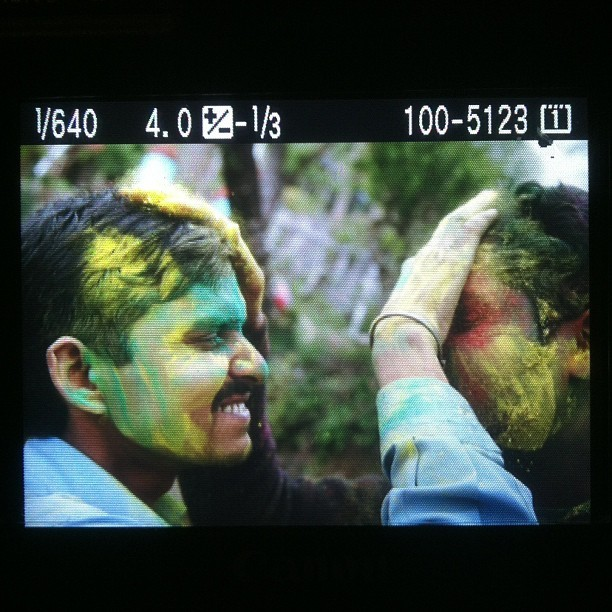 #holi #color #india