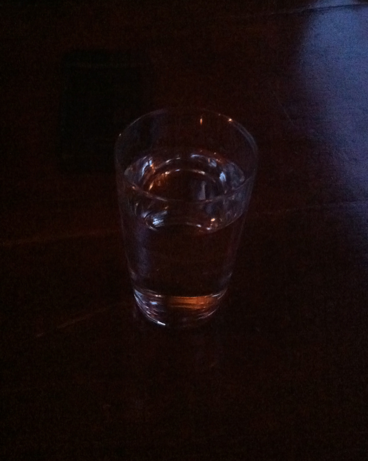 Water glass // New York, NYApril 2013