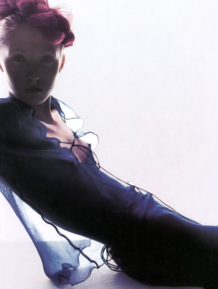 Model: Maggie Rizer | Photographer: Nick Knight | Via: The Quiet Front
