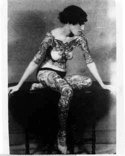 iconoclassic:  (via History of women's tattoos: From Native Americans to cancer victims' 'tatts' instead of breast reconstruction | Mail Online)