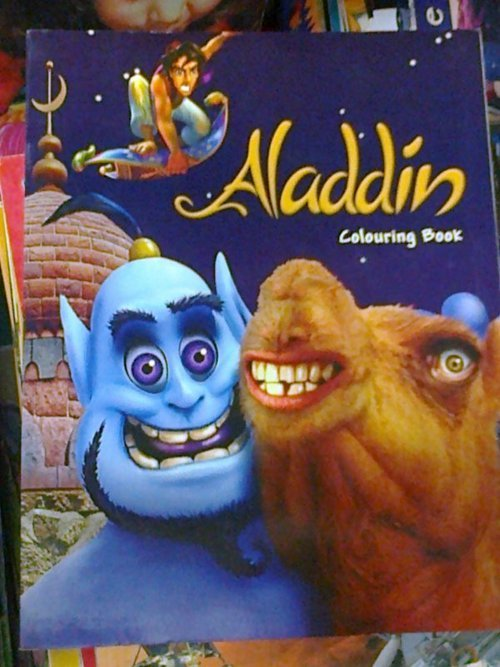 "collegehumor:  Aladdin on Acid Hope this isn't the ""Whole New World"" they kept singing about."