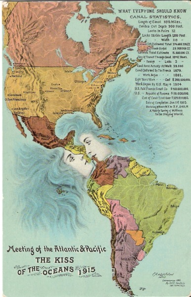 The Kiss of the Oceans, 1915