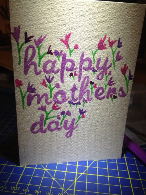 Happy Mothers Day Card.
