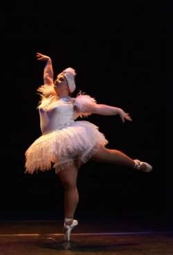 "accio-cheesefries:   ""but how can you be a ballerina if you're overweight?""   yes good perfect   Like this."