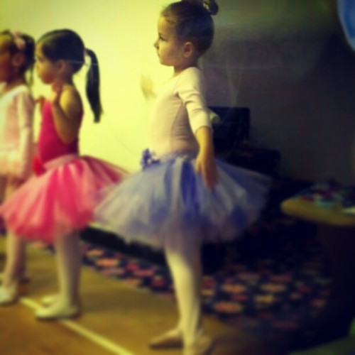 The prettiest ballerina at her first recital.. she was so awesome!