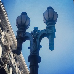 #Historic #DTLA #Spring #Street #Light #Sky #City #LosAngeles #Buildings