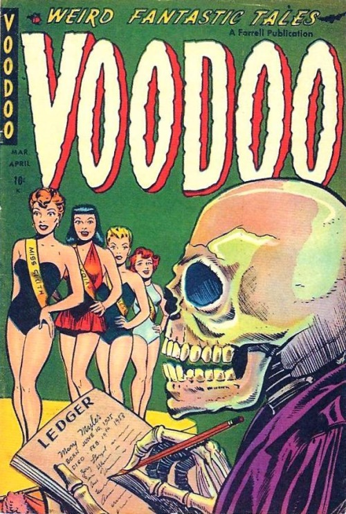 Voodoo #14, Mar/Apr 1954