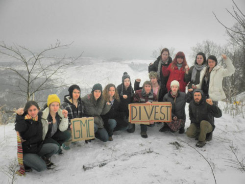 emergentfutures:  Green Mountain College to Divest From Fossil Fuels   Kudos to Green Mountain College for its announcement this week that it is committing to divest its $3.1 million endowment from companies profiting from fossil fuels. GMC is the fifth college nationwide and the second in Vermont to commit to divestment as part of a nationwide campaign that has spread to over 300 colleges and universities and more than 100 cities and states across the country.   Full Story: The Nation
