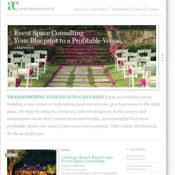 New website is finally up!!! eventspaceconsulting.com let me know what u think!