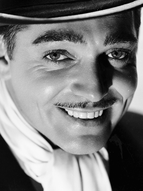 Clark Gable photographed by Russell Ball, 1934