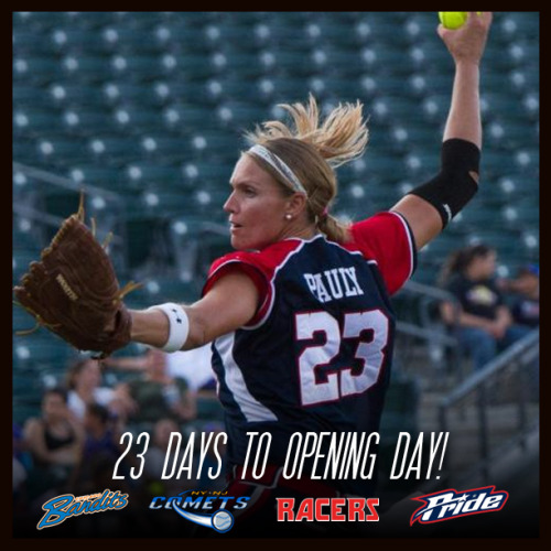 23 days until opening day!  June 5, 2013