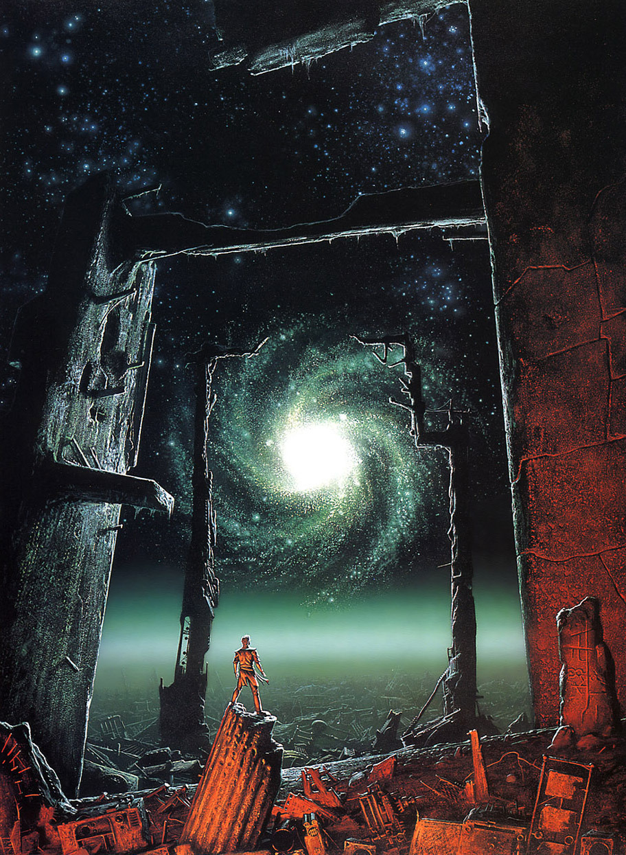 Trantorian Dream, por Michael Whelan