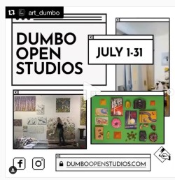 For the first time, DUMBO Open Studios is going online.