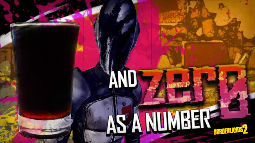 "Zer0 / The Assassin (Borderlands 2 cocktail) Ingredients:1/2 oz Jagermeister1/2 oz Blavod 1/3 oz Firewater (or any other strong cinnamon schnapps) Directions: Add the Jagermeister and Blavod to a chilled shot glass. Slowly add the Firewater to the drink while pouring it over a teaspoon/barspoon down the inside of the shot glass. The layer of Firewater will usually layer at the bottom of the shot but it may layer on top depending of the absolute density of the particular brand used.A note from the creator:  The main idea behind this shot is that the ratios of drink to the glass size are important. The main drink should be approximately 45% Jagermeister, 45% Blavod and 10% Firewater.  ""Sorry, did that hurt? That ""sorry"" was sarcasm. I am not sorry."" Drink created and photographed by Manuka Cliffe."