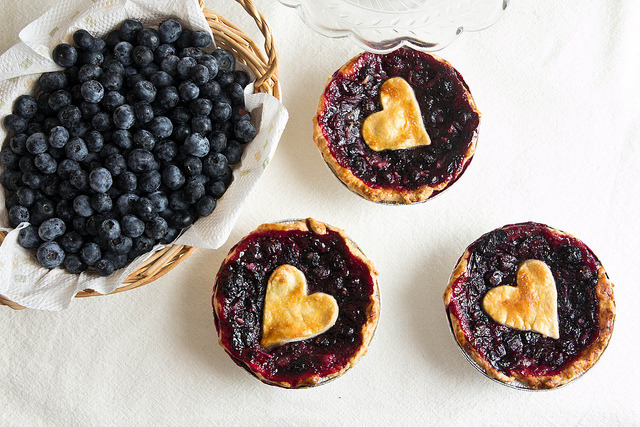 fattributes:  Mini Blueberry Pies