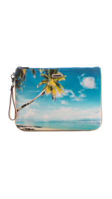 (vía Rebecca Minkoff Palm Tree Lissa Pouch | SHOPBOP)