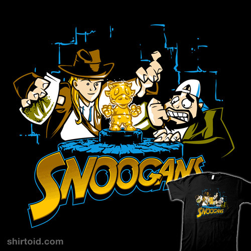 Snoogans Jones by Nathan Davis is $10 today only (4/2) at Shirt Punch