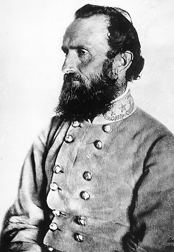 "countrytweeds:  Thomas Jonathan ""Stonewall"" Jackson, January 21, 1824 – May 10, 1863 ""Let us cross over the river, and rest under the shade of the trees.""      (via TumbleOn)"
