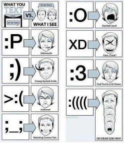 What smileys actually mean