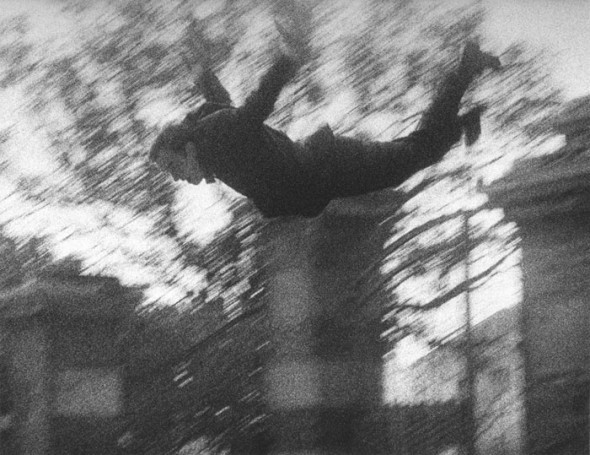 house-of-romanov:  Harry Shunk Saut dans le vide (Leap into the Void), 1960