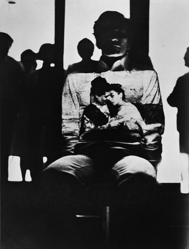 pier paolo pasolini with projection