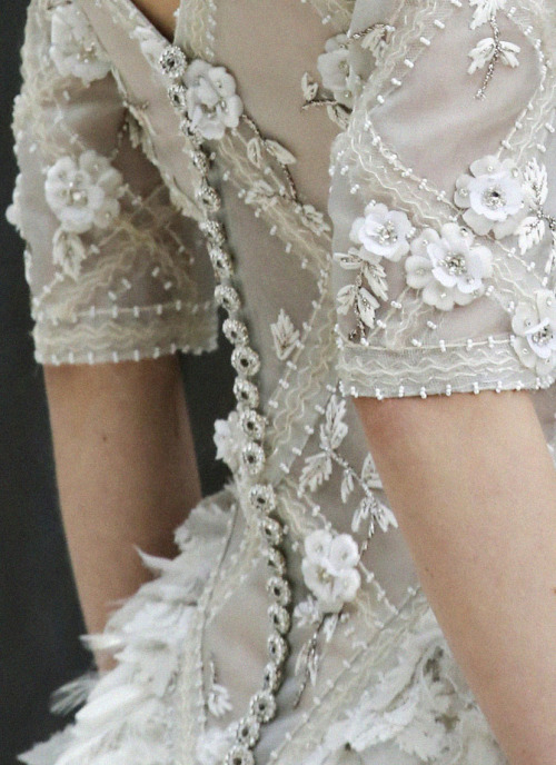 stopdropandvogue:  Chanel Haute Couture Spring/Summer 2013.