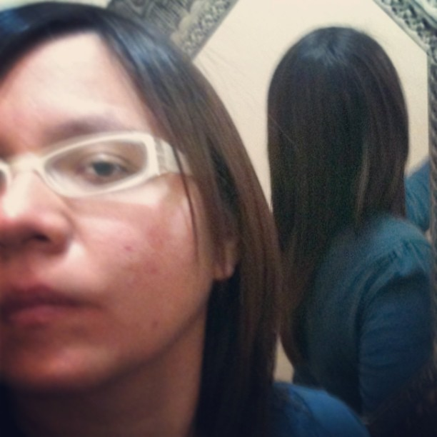 long hair 6/March/2013 #Self
