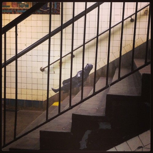 Reclining Soldier (Montrose Ave; L train)