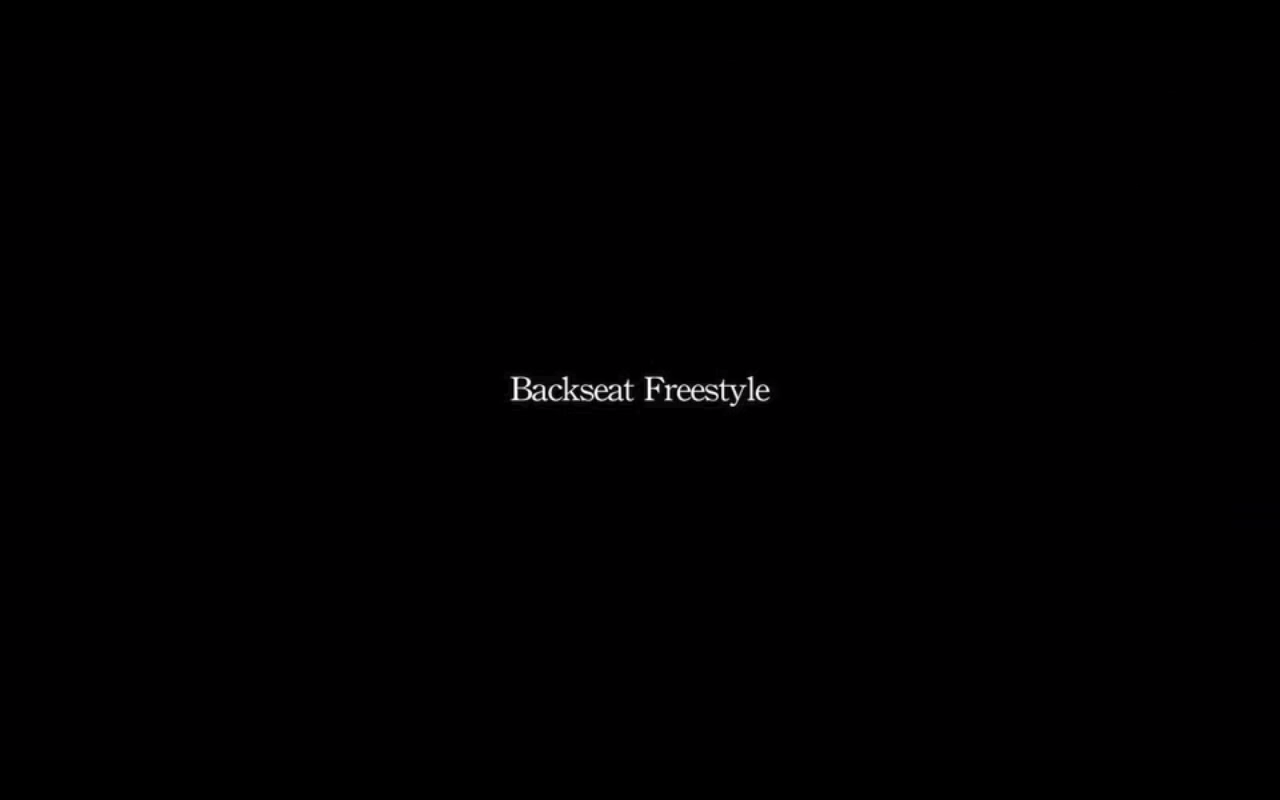 "Kendrick's newvideo for ""Backseat Freestyle"" might just be one of the best to come in a long, long time. It's not at all how I thought the visuals for this album would be, nor was it a song I would have thought they'd make into a single, but there you go. It's gotten me really excited to see subsequent cuts from good kid, m.A.A.d. city, which was probably the best rap record to come out in 2012. Check the video out."
