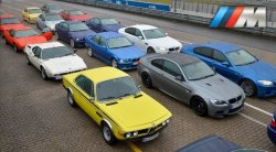 40 years of BMW M. C&D drives the cars on the Nürburgring.  -DS