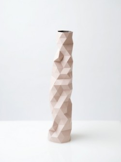 explosionspace:  Faceture Vase Pink by Phil Cuttance